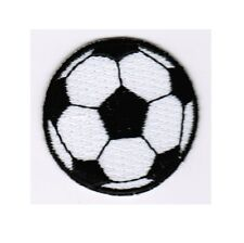 3-Pack, Iron on Neon Yellow Soccer Ball Futbol Applique Patch