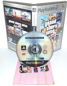 GRAND-THEFT-AUTO-VICE-CITY-GTA-Ps2-Playstation-Play-Station-2-Gioco-Game-Car