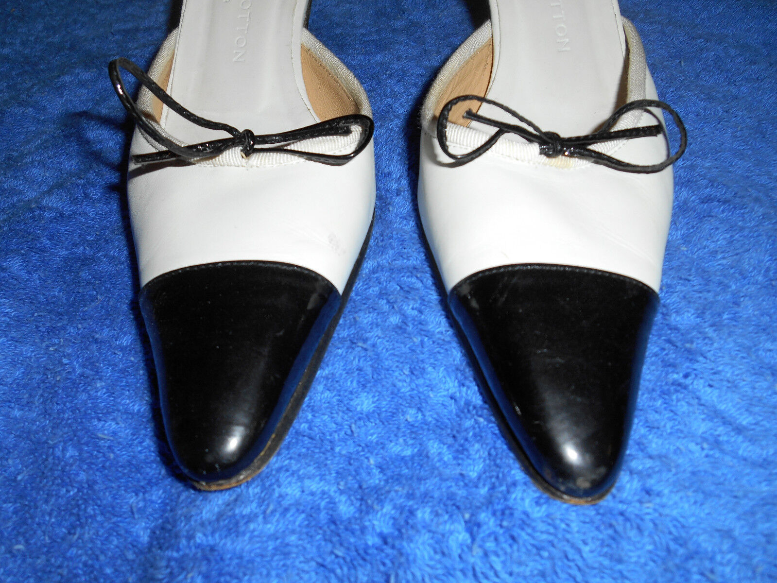 STUBBS & WOOTTON Palm Beach Mules Slides chaussures Taille 7 AA Nice d'Italie.