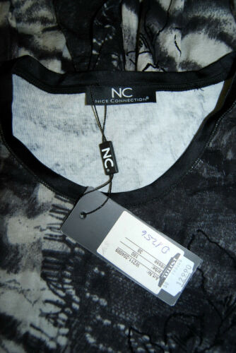 Connection Shirt 1256 38 floccato New Top velluto Nice Longsleeve 129 tunica D Nobile d5xpwp7q