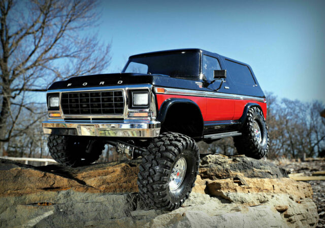 Traxxas TRX-4 Ford Bronco RC Crawler 1/10 Scale