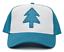 Dipper Blue Pine Tree Cartoon Baseball Cap Movie superfici curve lisce Snapback cappuccio berretto H