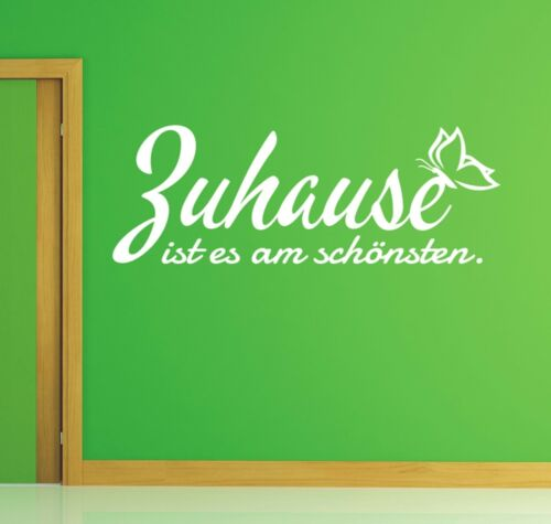 X333 Wall Tattoo Saying Home is The Most Beautiful Wall Sticker Wall Decal