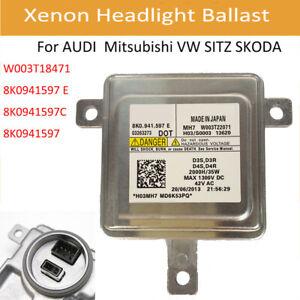 8K0941597C Mitsubishi Audi VW HID Xenon Headlight Ballast 8K0.941.597.C