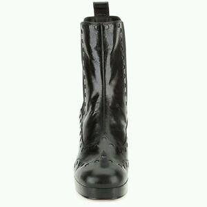 d'anniversaire taille de noir Plateforme Orla Cadeau Dixie en cuir femmes la 8 Kiely aOHqO1dwxp