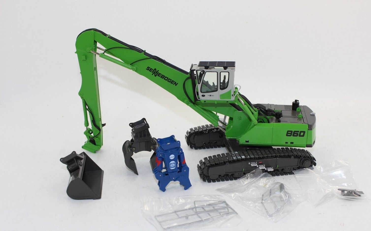 Nzg 892 Sennebogen 860 HD with 3 Attachments 1 50 New Boxed