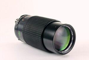 Albinar 80-200mm Nikon F-Supporto Ai Focus Manuale Zoom Lenti
