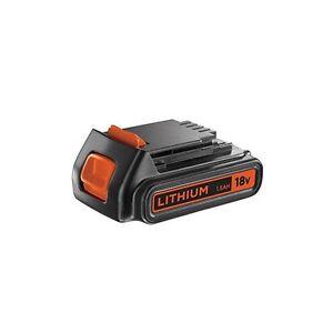 black decker batteries lithium 18v 1 5 ah bl1518 egbl18 egbhp188 gkc1820 ebay. Black Bedroom Furniture Sets. Home Design Ideas