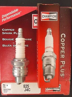 Pack of 1 Champion J4C 825 Copper Plus Small Engine Spark Plug