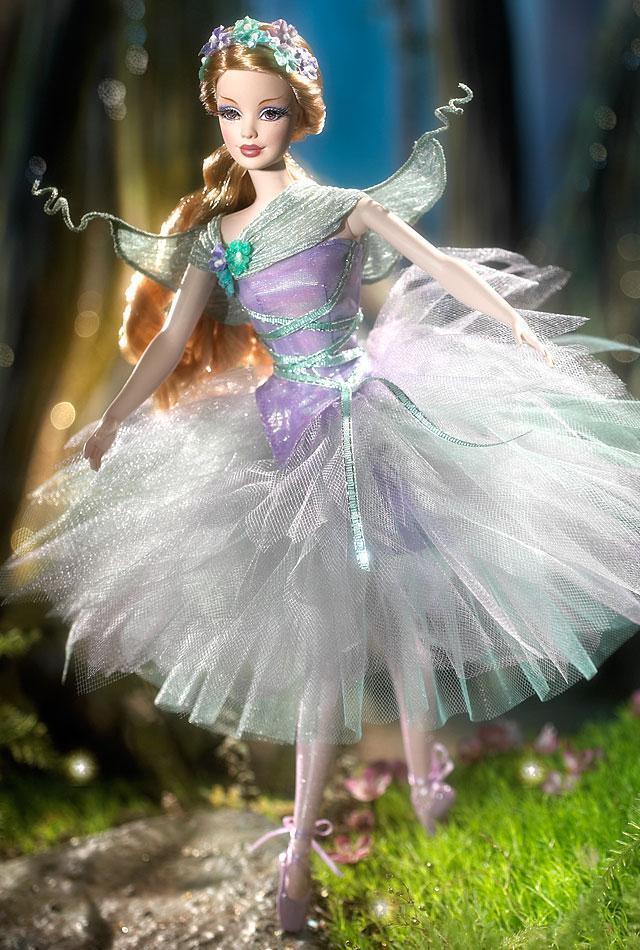 RAR RAR RAR Barbie Collector Titania aus Midsummer Night`s Dream Ballet  NRFB 23534c