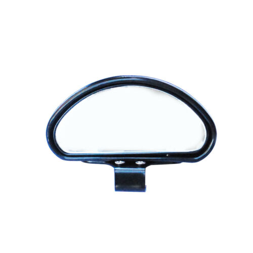 Auto Car Safety Side Blindspot Blind Wide Angle View Spot Mirror Black Universal