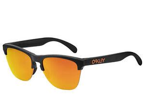 322f9bd35c Image is loading Oakley-Frogskins-Lite-sunglasses-Black-Prizm-Ruby-OO-