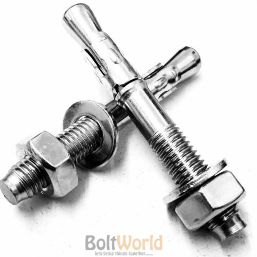 M6 A4-316 MARINE GARDE STAINLESS STEEL THROUGH BOLT ANCHOR RAG RAWL THROUGHBOLTS