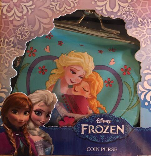 BBDesigns DISNEY FROZEN ANNA /& ELSA SISTERS Gift Boxed Girls Coin Purse