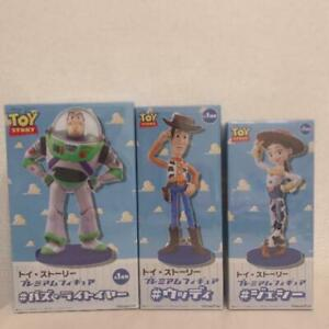SEGA-Toy-Story-4-Premium-Figure-Buzz-Lightyear-Woody-Pride-Jessie-Free-Ship