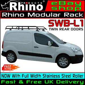 Swb Rhino Modular Van Roof Rack Rear Ladder Roller Peugeot Partner 2008 2018 Ebay