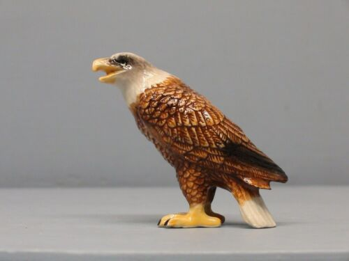 Nice Porcelain Northern Rose Eagle Sitting