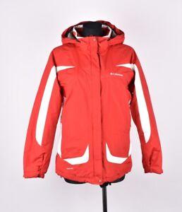 Details zu Columbia mit Kapuze Damen Jacke Mantel Größe M
