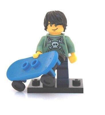 NEW LEGO MINIFIGURE SERIES 1 8683 - Skater (Skateboarder)