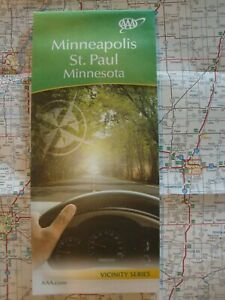 Details about AAA MINNEAPOLIS / ST. PAUL MINNESOTA MN Travel Road Map on boston ma road map, rockford il road map, lubbock tx road map, black hills sd road map, orange county ca road map, tallahassee fl road map, glendale az road map, arlington va road map, miami fl road map, philadelphia pa road map, downtown minneapolis bike map, st charles mo road map, mount pleasant sc road map, moses lake wa road map, hartford ct road map, minneapolis light rail blue line map, mesa az road map, sacramento ca road map, eugene or road map, worcester ma road map,