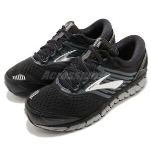 a3d03365d00 Brooks Beast 18 4E Extra Wide Black Grey Silver Men Running Shoes ...