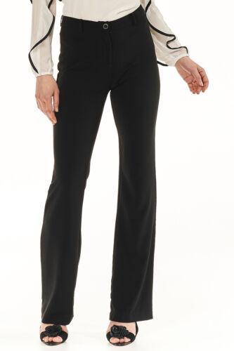 Hose Damen leicht ausgestelltes Bein Damenhose schwarz Neu Gaudi 104€