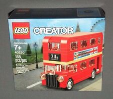 LEGO CREATOR Mini London Bus Set 40220 Exclusive NEW
