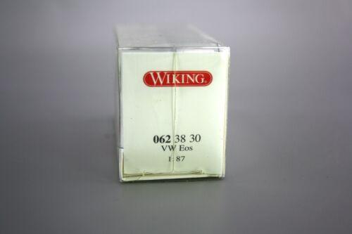 Wiking h0 1:87 coche modelo vw eos marrón negro 062 38 30 nuevo embalaje original nos