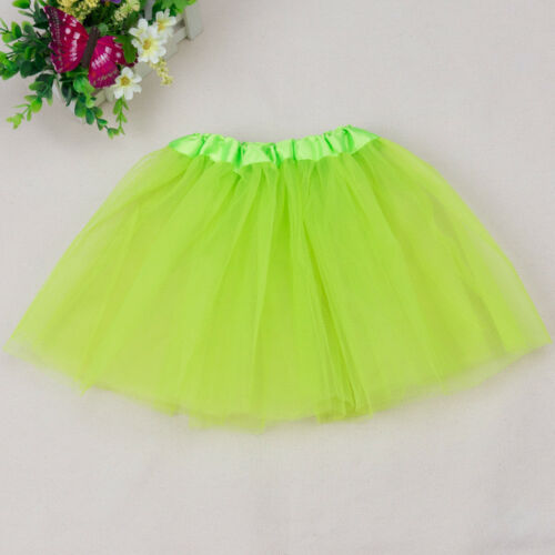 Kid Girls Mesh Skirt Ballet Tutu Skirt Princess Dressup Dance Wear Party Dresses