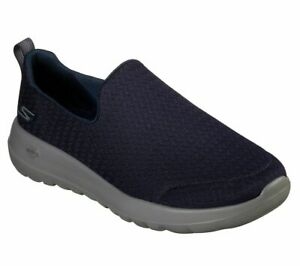 Details about Go Walk Navy Skechers Shoes Mens Memory Foam 54635 Cushioned Slip On Casual Mesh