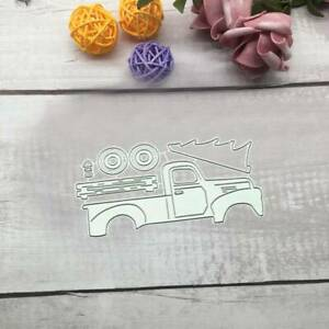 US Truck Metal Cutting Dies Stencil Scrapbooking Album Paper Card DIY Craft.