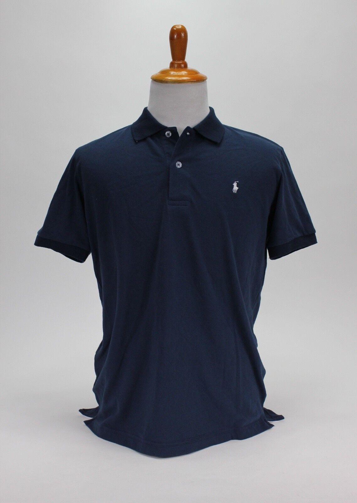 Polo Ralph Lauren Men's Classic-Fit NZD Polo Shirt bluee Size XL 100% Cotton
