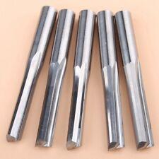 5pcs 6x25mm 2 Flute Straight Shank Carbide End Mill Cnc Router Bit Engraving Bit