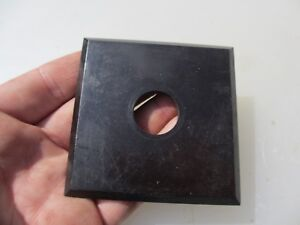 "Vintage Bakelite Light Switch Square Plate Art Deco Antique Old Front ""Tenby"""