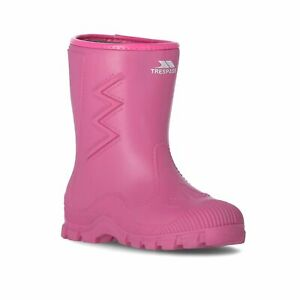 Trespass-Toetey-Kids-Boys-Girls-Waterproof-Wellies-Boots