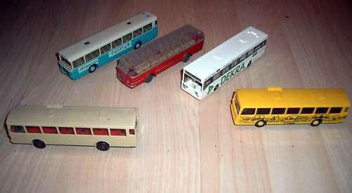 5 très vieux bus autobus urbains wiking etc bus train h0