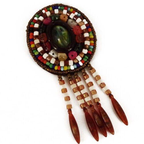 Patch Sewing bag Decoration Inca Kuchi Afghan Banjara Tribal beads AF29