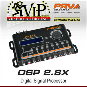 Details about PRV Audio DSP 2 8X Car Digital Signal Processor graphic &  parametric equalizer