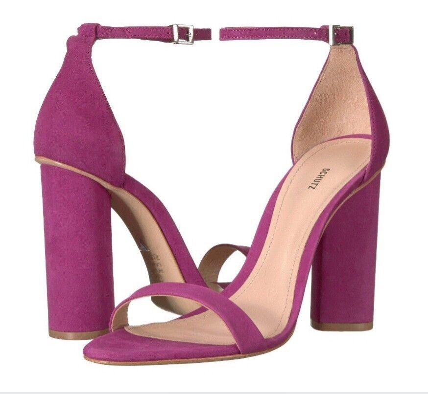 Schutz Jeannine Jeannine Jeannine Block Heel Sandals Größe 9.5M a88397