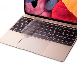 """Silicone Clear KeyBoard Cover Skin For MacBook Air//Pro//Retina11//12//13//15//17/""""~"""