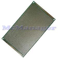 Drilled Double sided Copper Prototype PCB Matrix Epoxy Glass Fibre Board 90x150