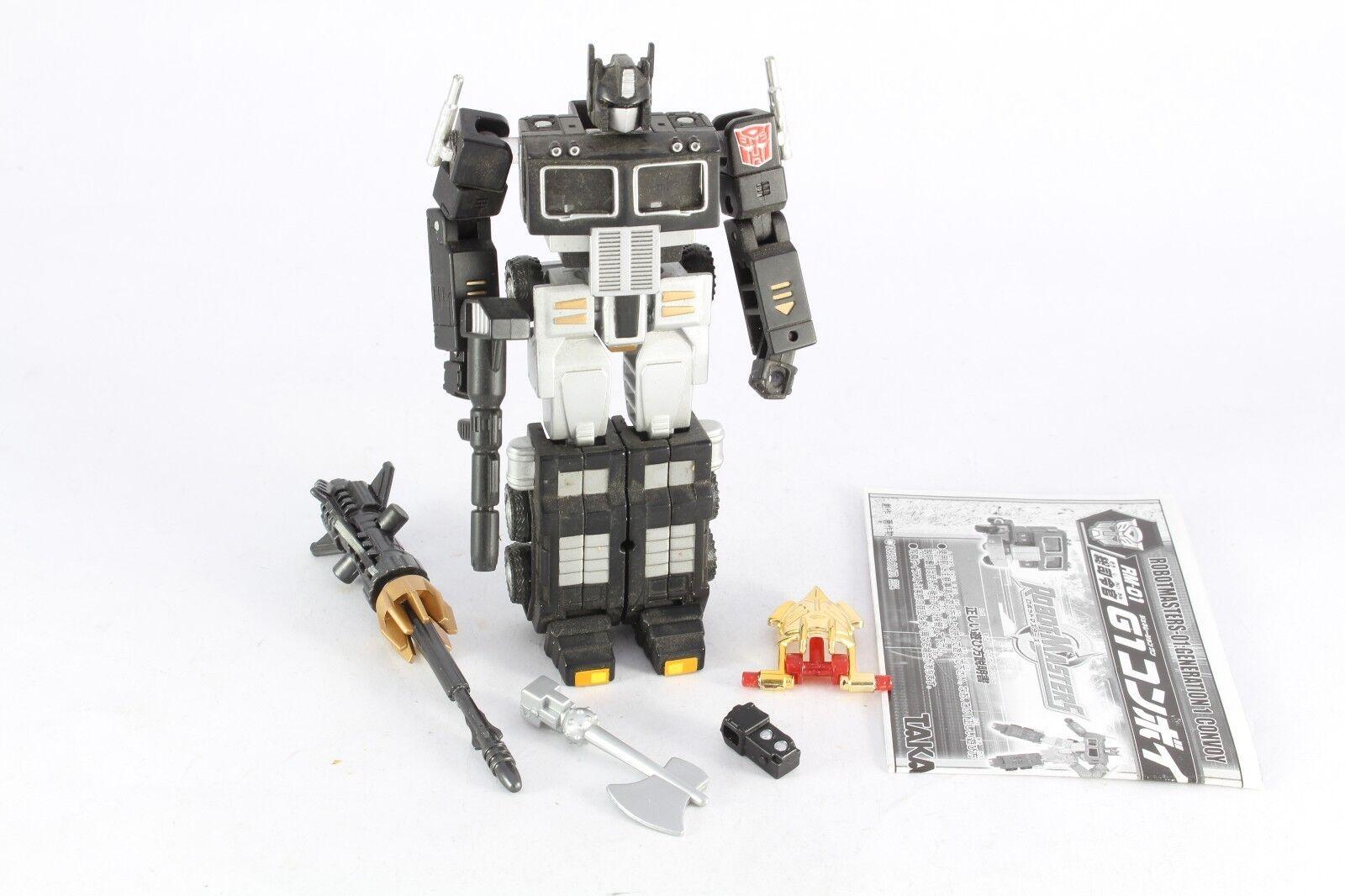 Transformers Robot Masters RM-12 TAKARA CONVOGLIO Nero