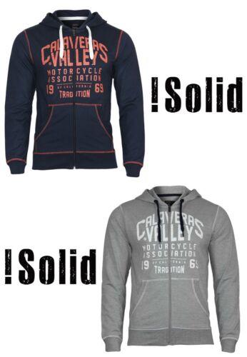Solid Messieurs Sweatshirt AKELLOCapuche Fermeture Éclair Design Loisirs Pull