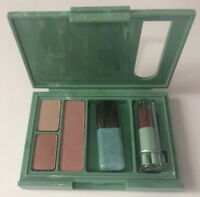 Clinique Eye Duo Sierra Glaze, Plum Gorgeous Blush, Berry Freeze Mini Lipstick