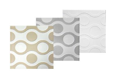 10 qm Deckenplatten Decke Styroporplatten Platten Dekor Stuck 50x50cm Nr.73