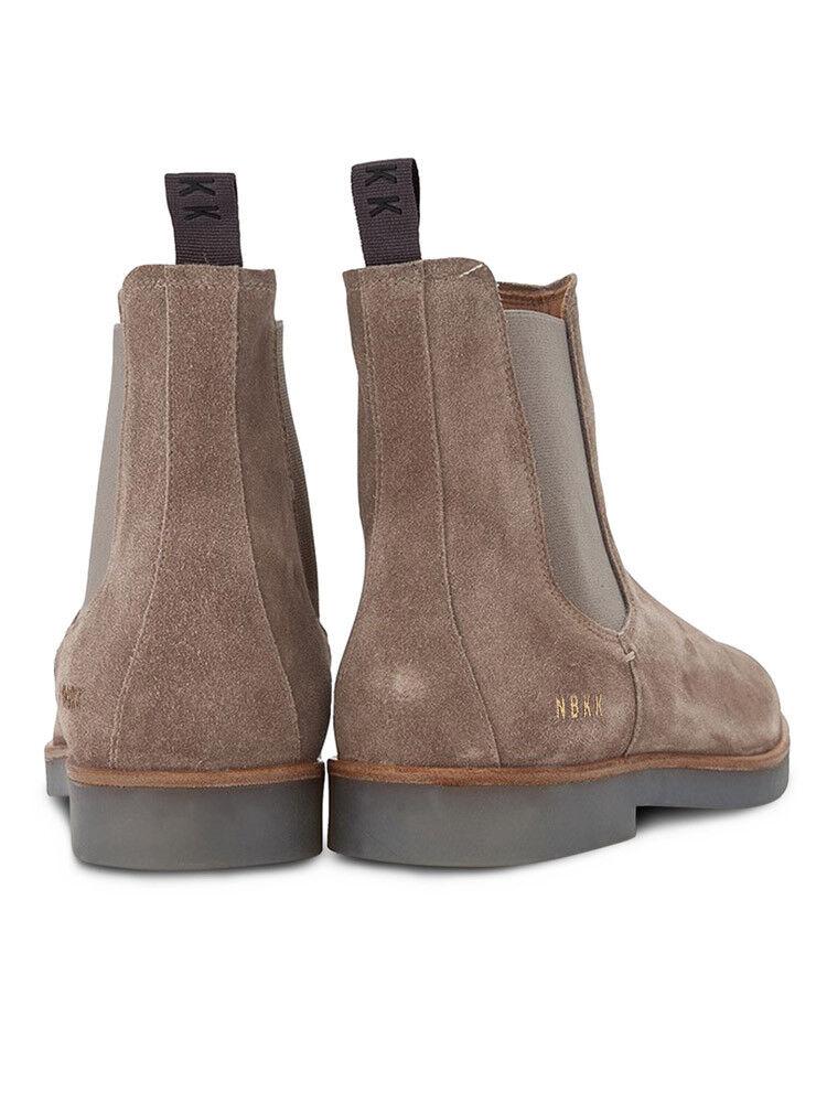 NUBIKK LOGAN herren herren herren CHELSEA SUEDE II Stiefel IN TAUPE braun    ALL GrößeS    12a8c1