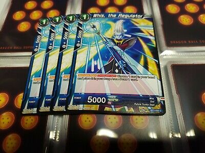 the Regulator BT7-035 C Dragon Ball Super trading card game Near Comme neuf Whis