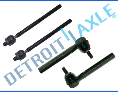 New Front Inner /& Outer Tie Rod End Links for 2005-2007 Nissan Murano 4pc Kit
