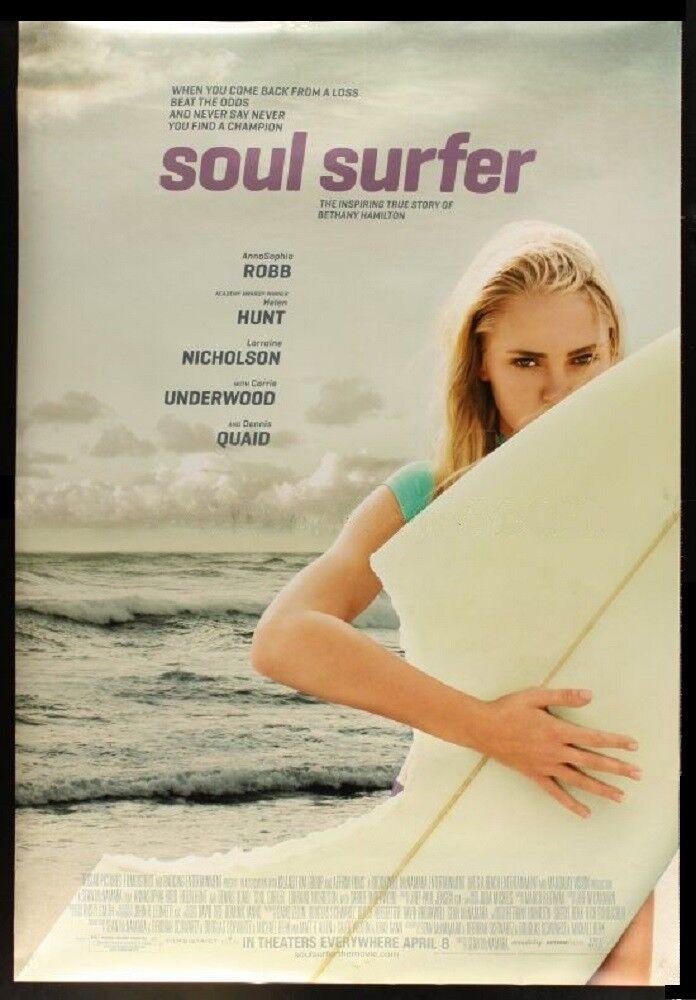 Original SOUL SURFER 48  X 69 3 4  Bus Shelter AnnaSophia Robb BETHANY HAMILTON