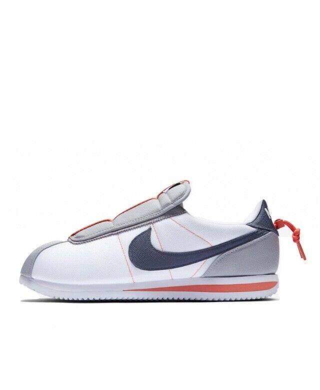 Kendrick Lamar X Nike Cortez Basic Basic Basic Slip blancooo AV2950-100 con recibo de tamaño 4-7 7e7c70